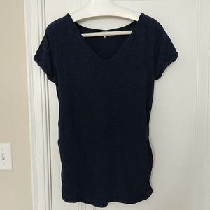 Slouch fit maternity top